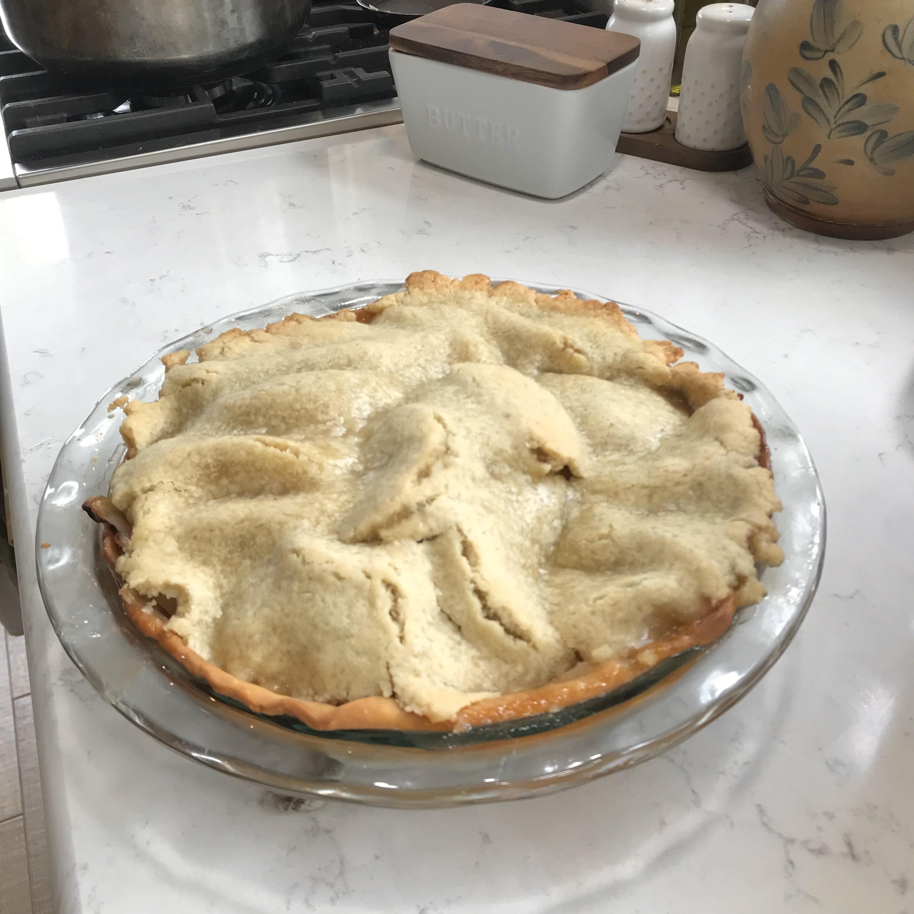 Pie Crust III Angelica Violet