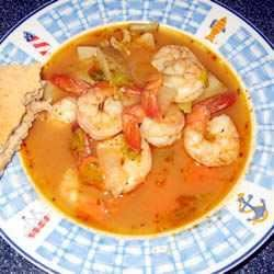 Hot-and-Sour Prawn Soup with Lemon Grass Marty Stiewig