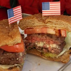 Star-Spangled Burgers Baking Nana