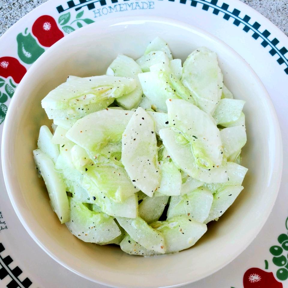 Victoria's Cucumber Salad