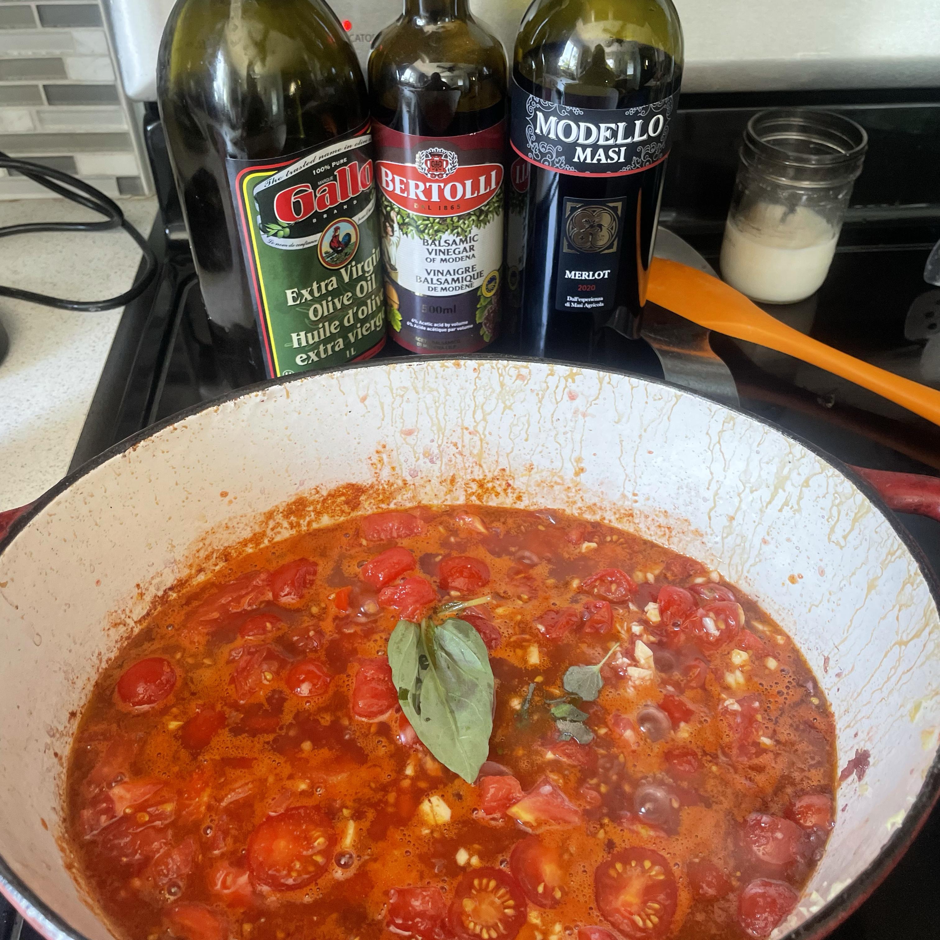 Fresh Tomato Marinara Sauce