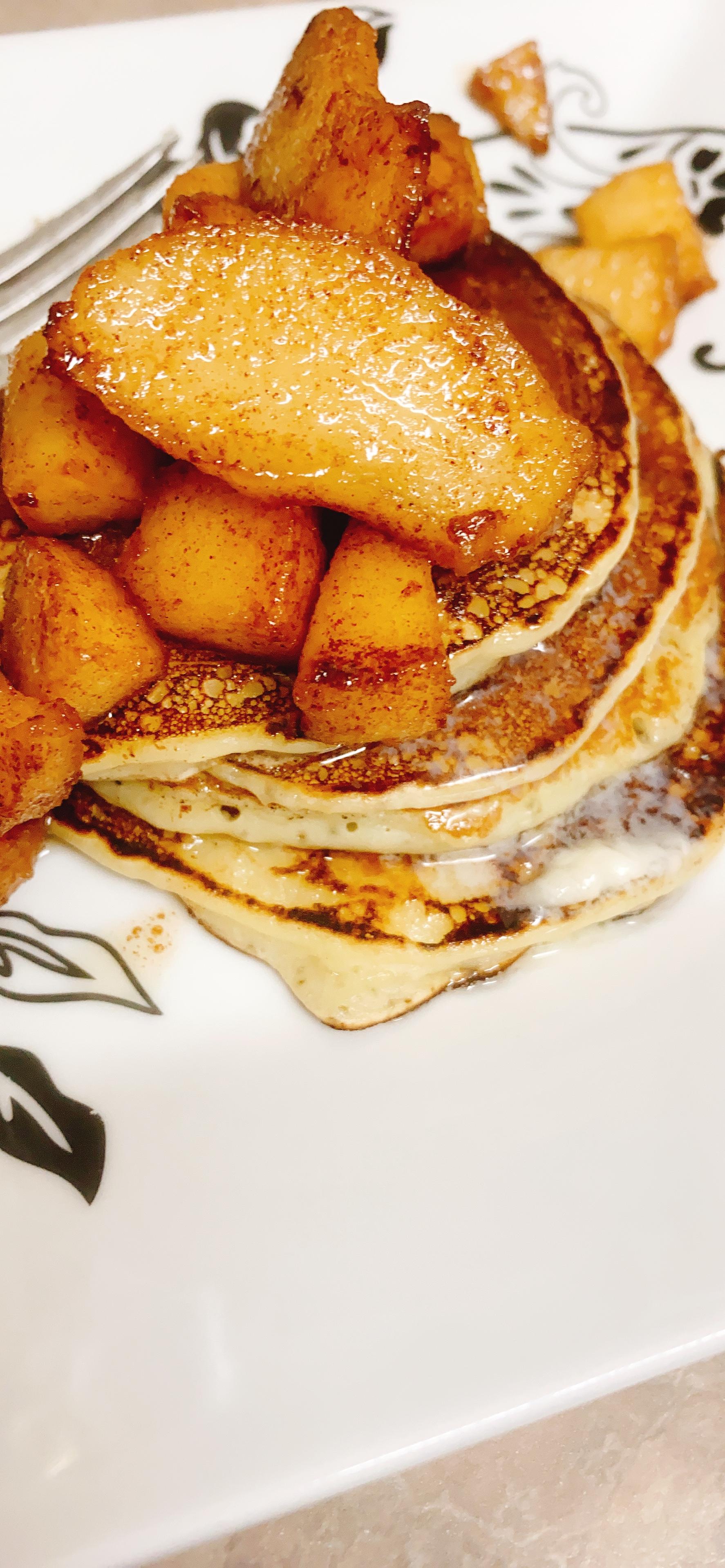 Caramelized Apple Pancakes