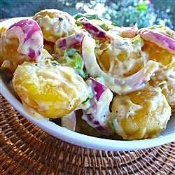 warm dijon potato salad recipe