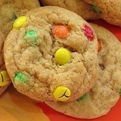 Candy-Coated Milk Chocolate Pieces Party Cookies