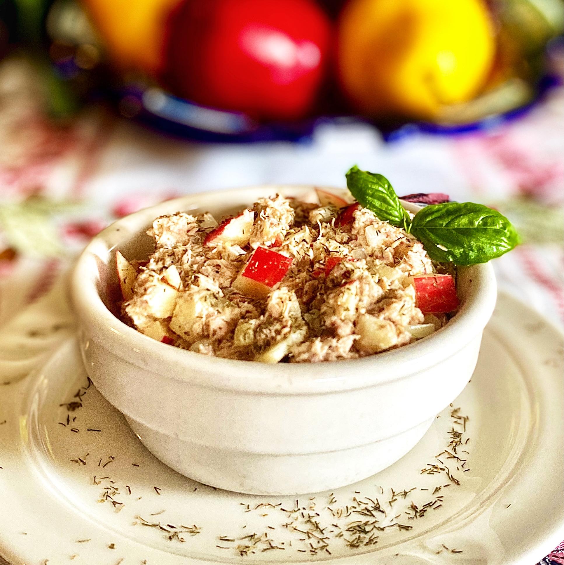 Southern Apple Tuna Salad