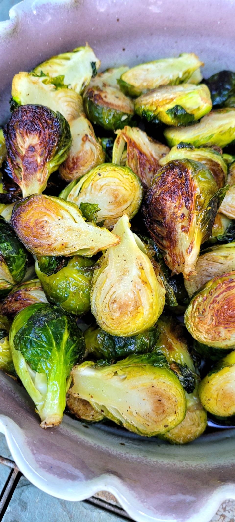 Asian Roasted Brussels Sprouts