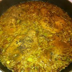 Pork Chops Over Rice Bridgette