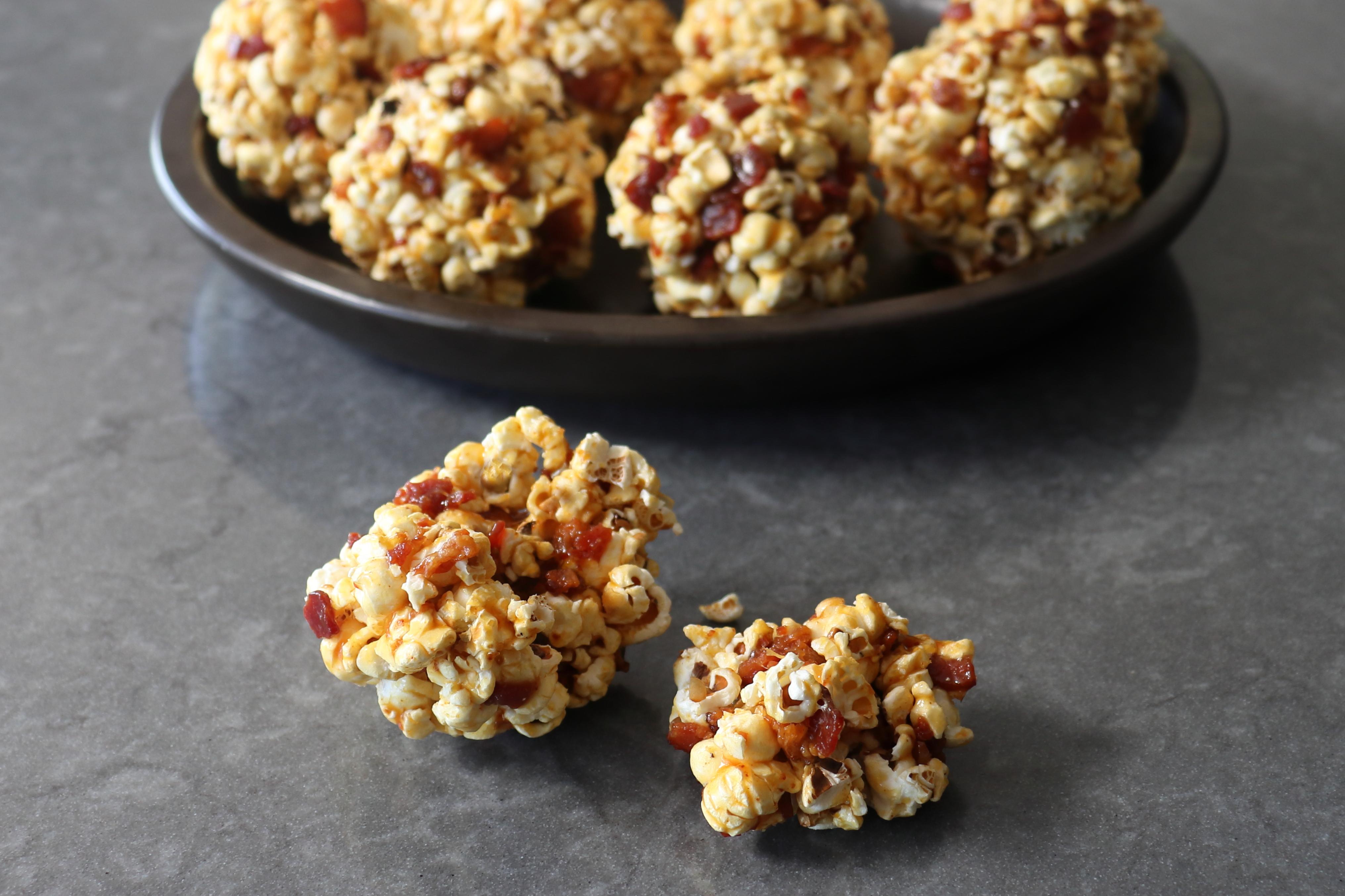 Bacon-Caramel Popcorn Balls Chef John