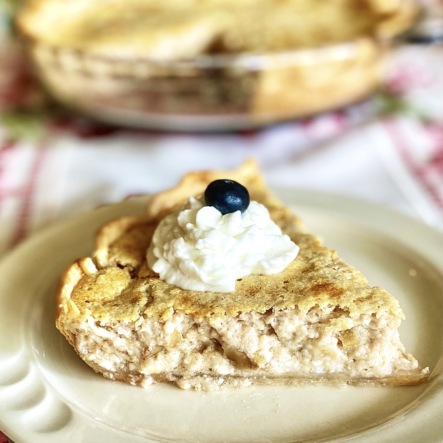 Creamed Cottage Cheese Pie