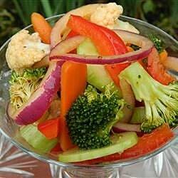 moms marinated vegetables recipe