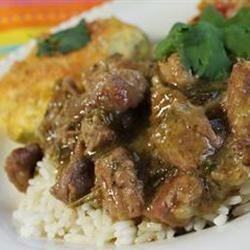 Pork Stew in Green Salsa (Guisado de Puerco con Tomatillos) naples34102