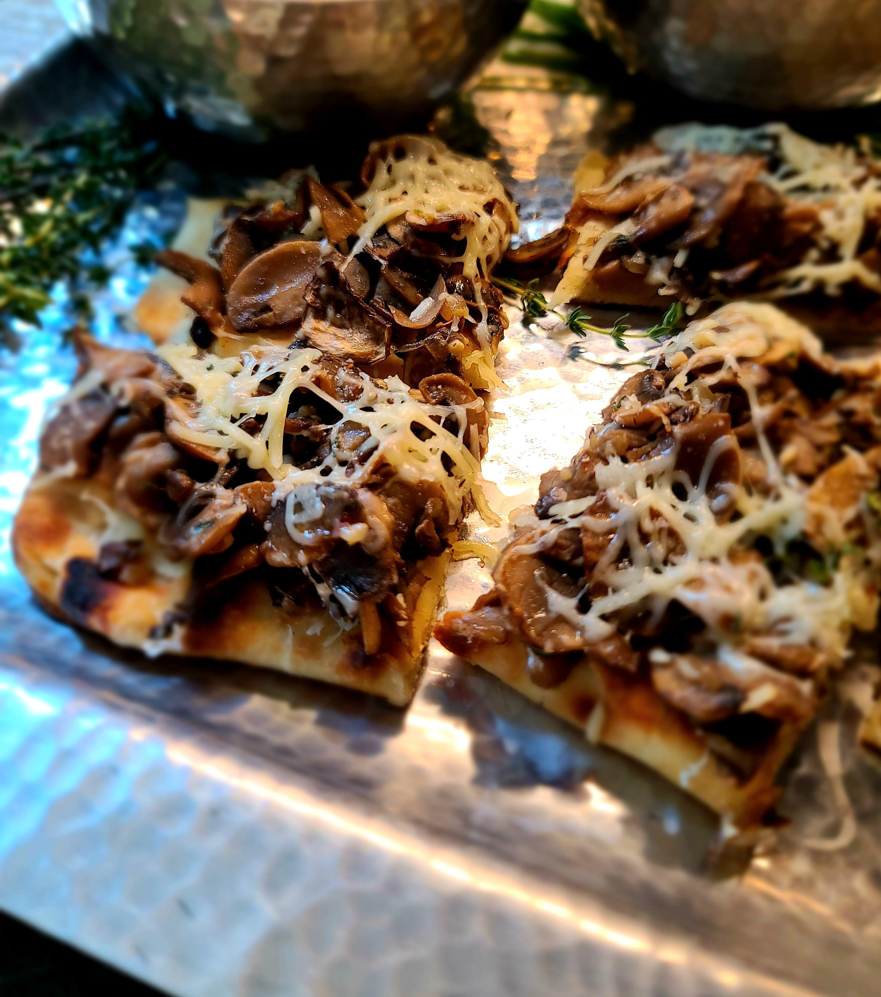 Mike's Mushroom Bread
