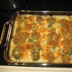 Cauliflower and Broccoli Bake Mom