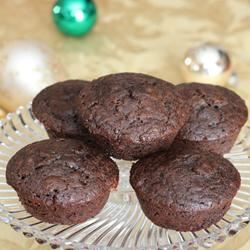 Cappuccino Muffins with Chocolate and Cranberries Paula
