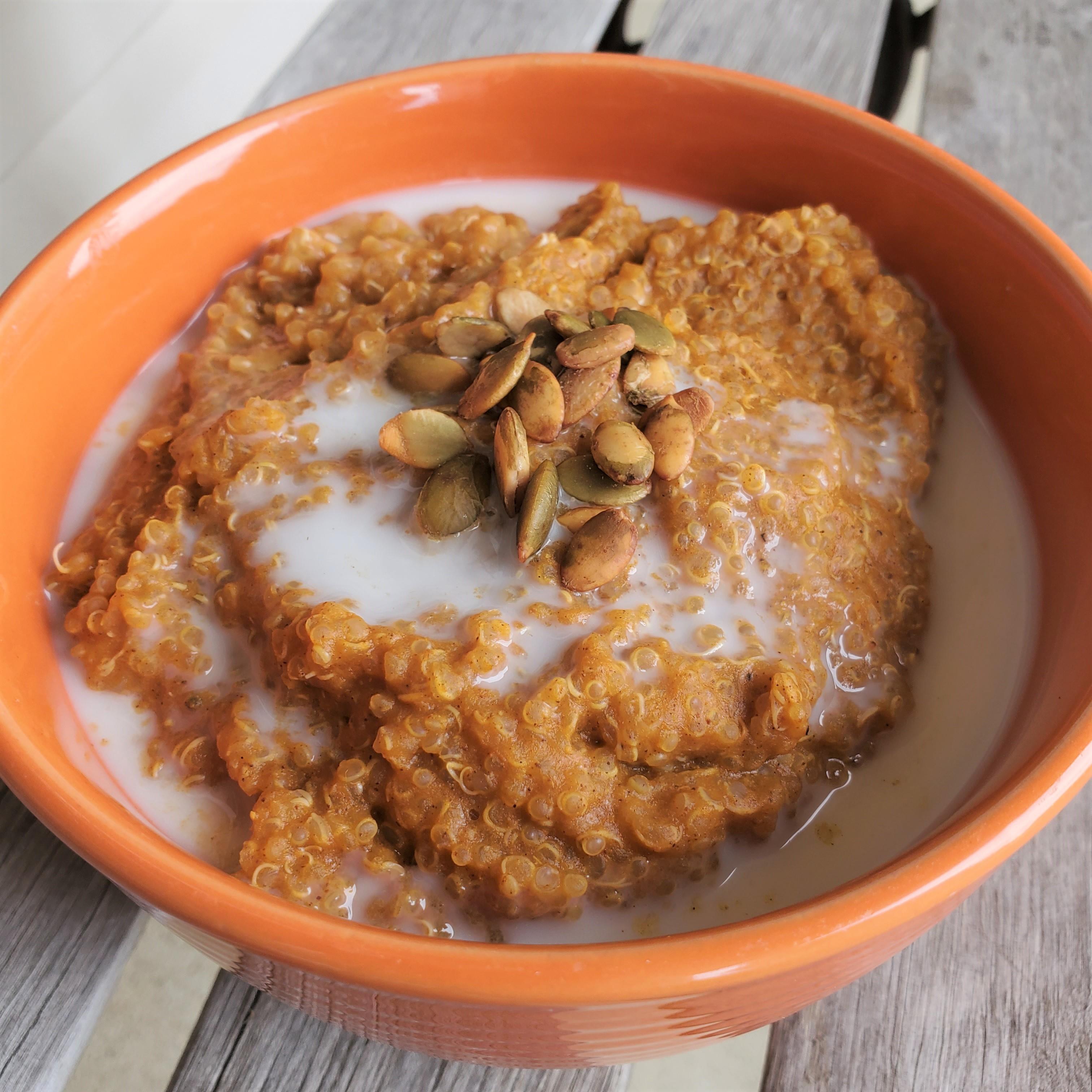 Instant Pot® Pumpkin Quinoa Porridge