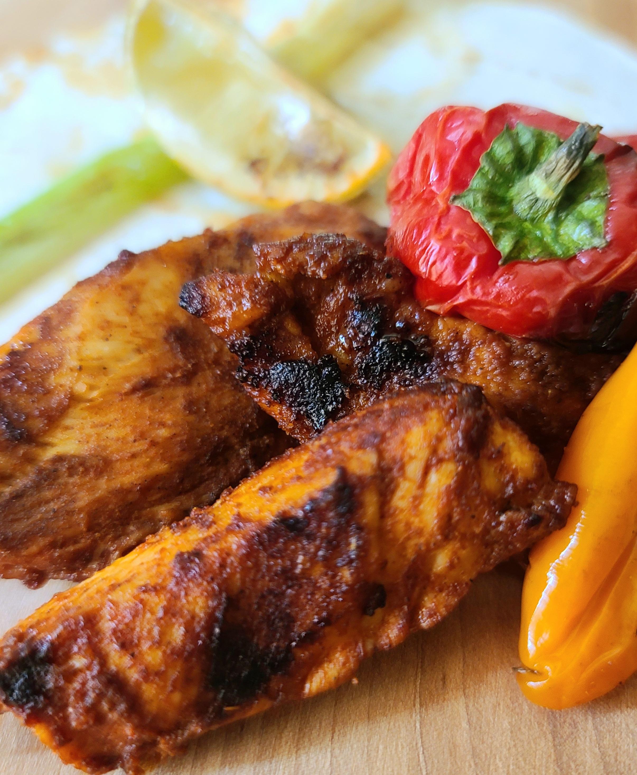 Grilled Chicken Fajitas Nicolette