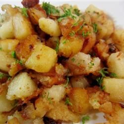 Butter Fried Potatoes pelicangal
