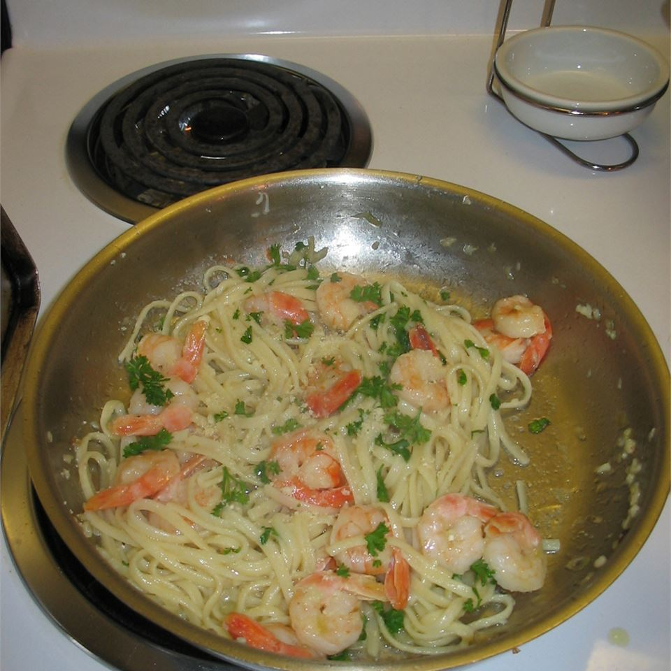 Garlic Shrimp Pasta Bill Fergusson