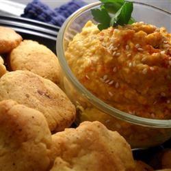 Savory Pumpkin Hummus Linda T