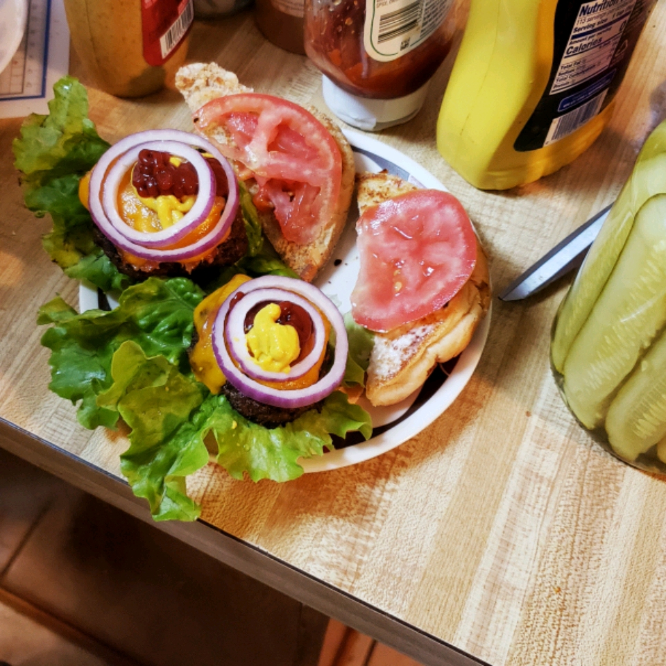 Bacon Wrapped Hamburgers