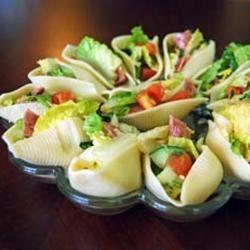 Salad Stuffed Shells Life Tastes Good