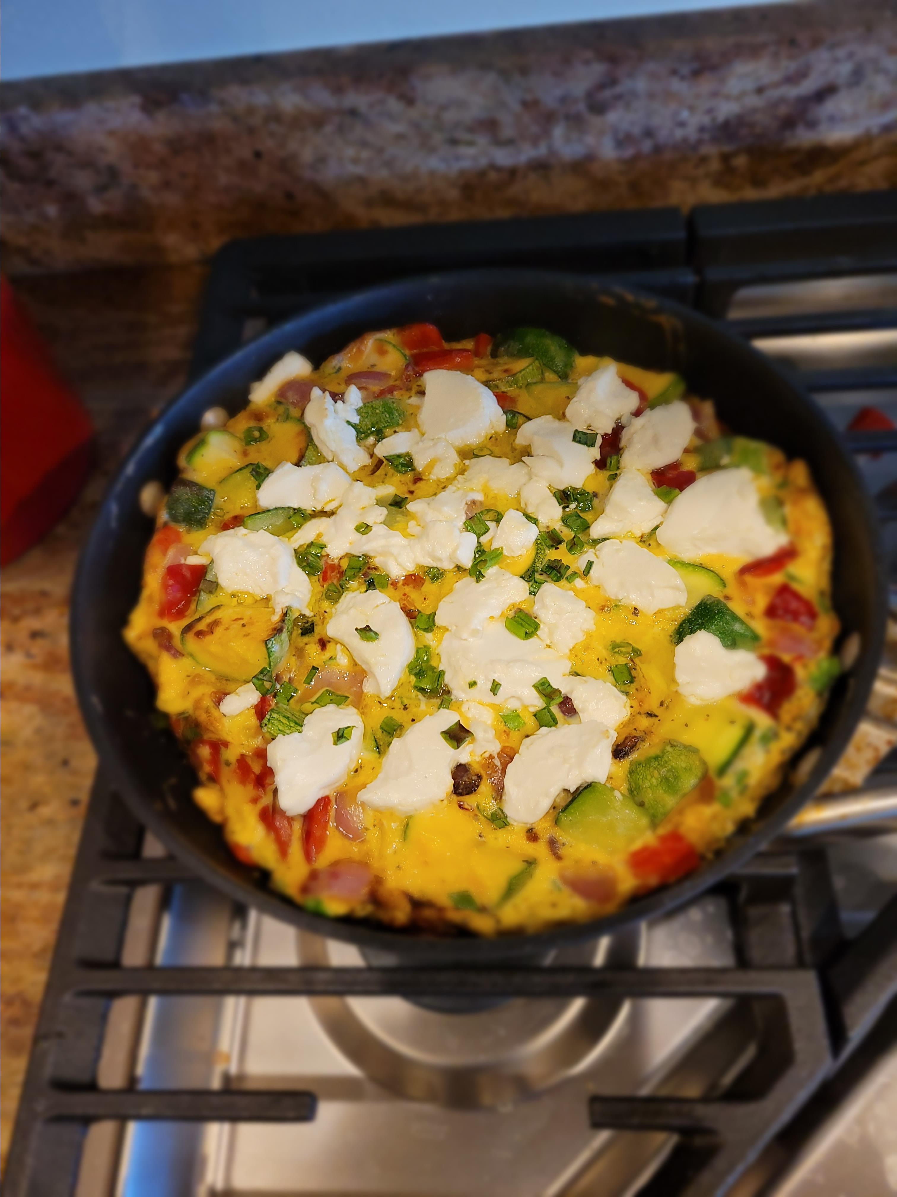 The Farmer's Frittata (Italian-Style Omelet)
