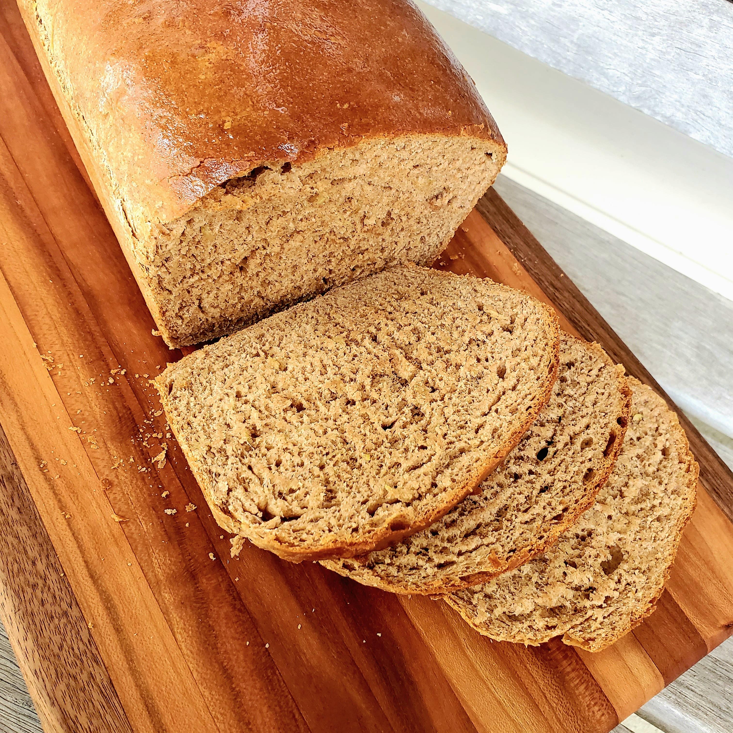 Cinnamon-Zucchini Yeast Bread
