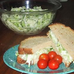 Zucchini Cucumber Salad Vickie Spencer