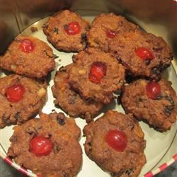 Delicious Whole Wheat Fruitcake Cookies lovemysweets
