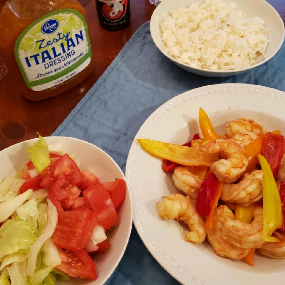 Spicy Thai Shrimp Salad Don James