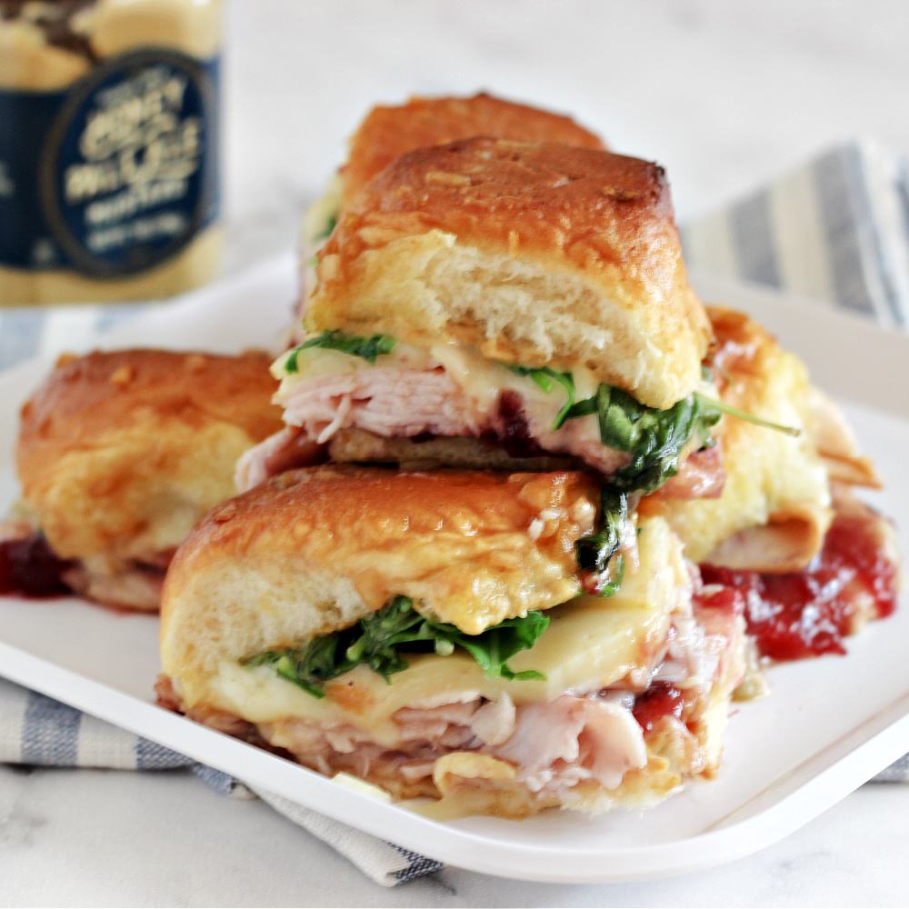 Baked Turkey and Cranberry Sliders