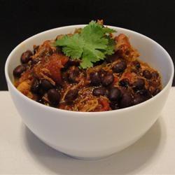 Grandma's Chicken and Black Bean Chili
