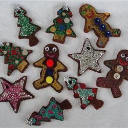 Non-Edible Cinnamon Ornaments