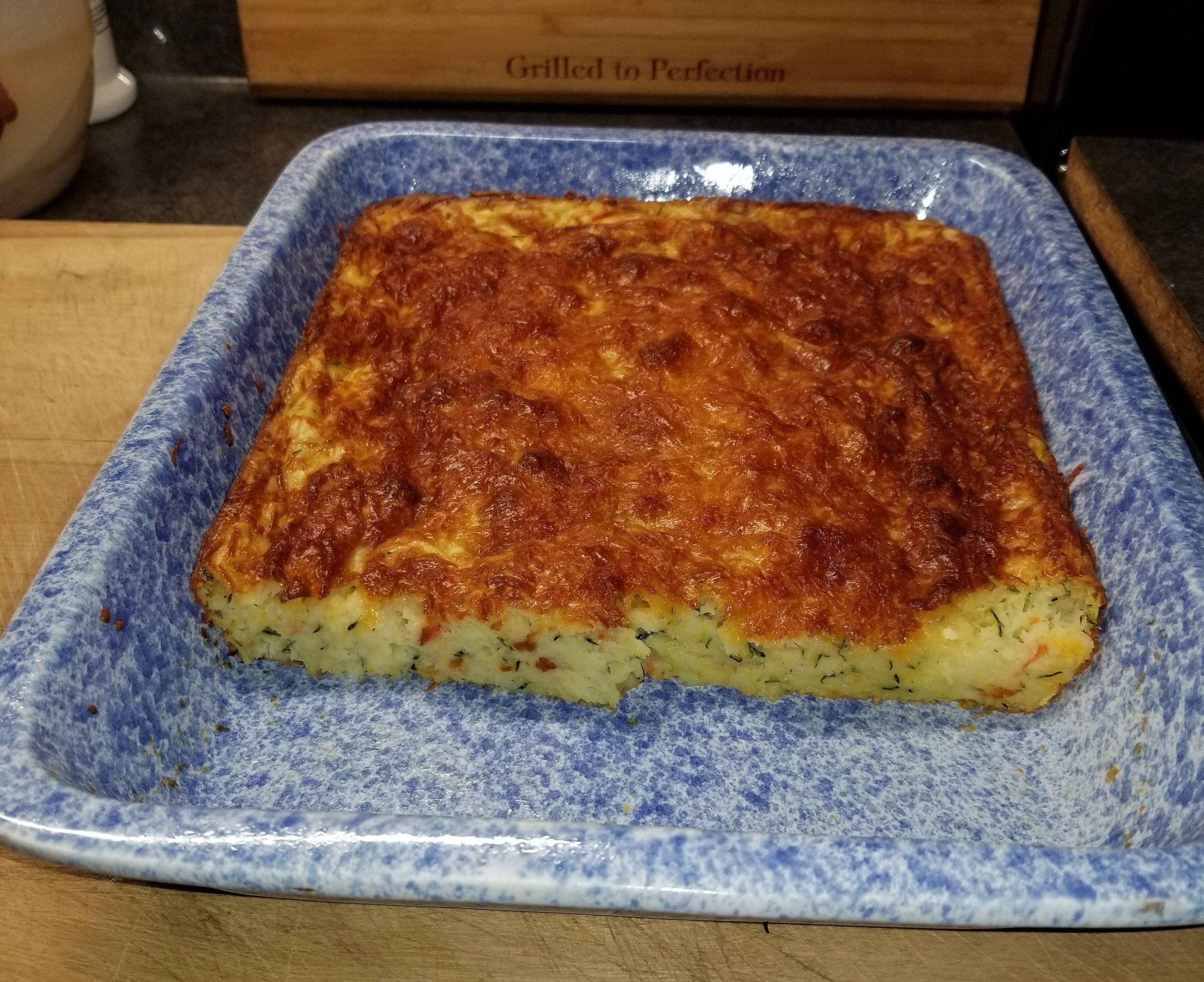 Zucchini Cornbread Casserole Kathleen Baker