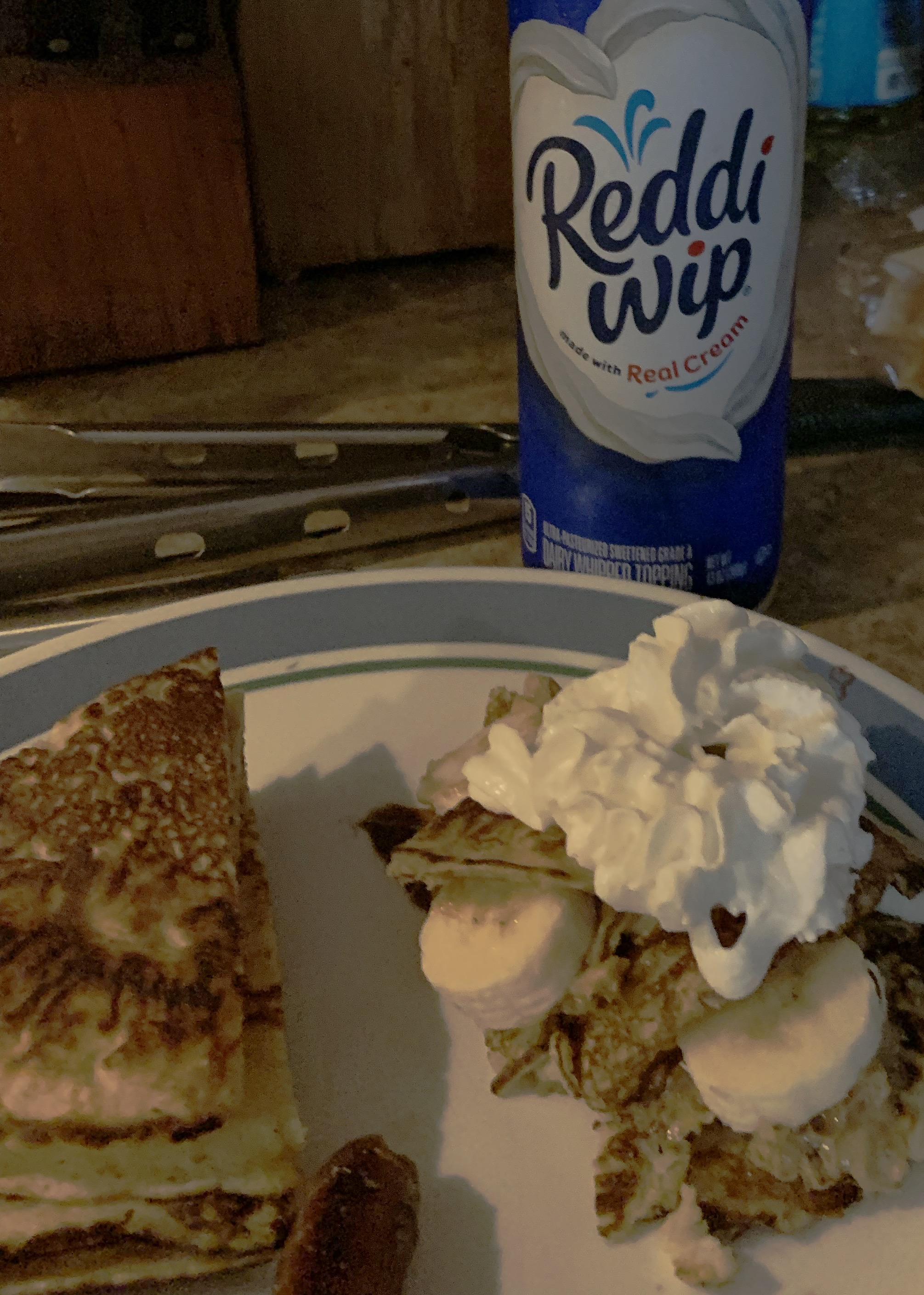 Gluten Free Peanut Butter and Banana Crepe Stack Audrey E Wrobel