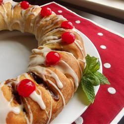 Christmas Tea Ring Holiday Baker