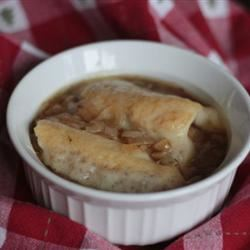 French Onion Soup with Port Wine sanzoe