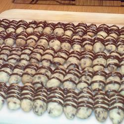 Mini Chocolate Chip Shortbread Cookies
