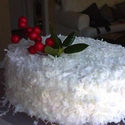 Creamy Coconut Cake