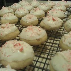 Candy Cane Snowball Cookies Lkauff
