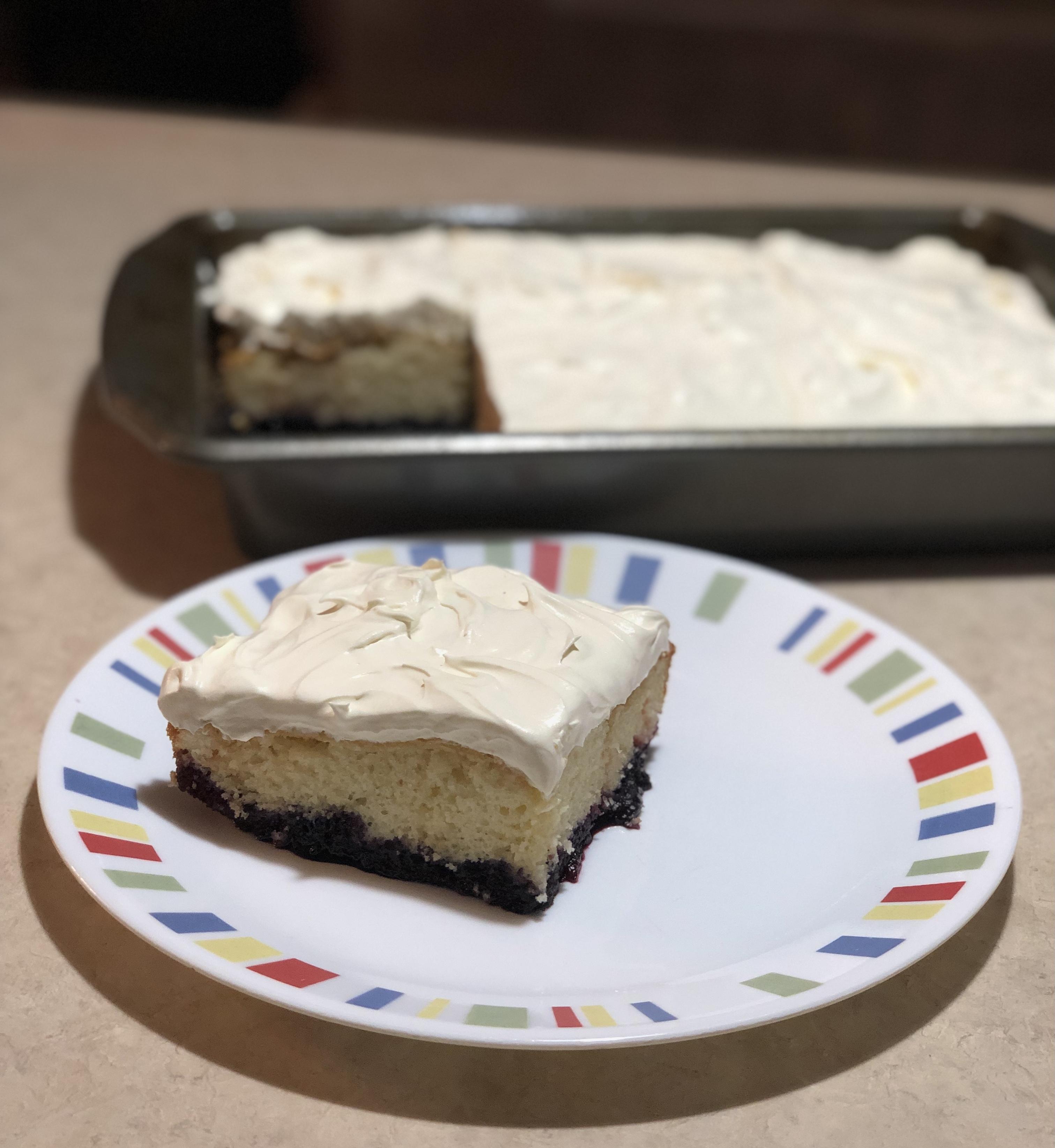 Blueberry Bottom Cake maclandlog77