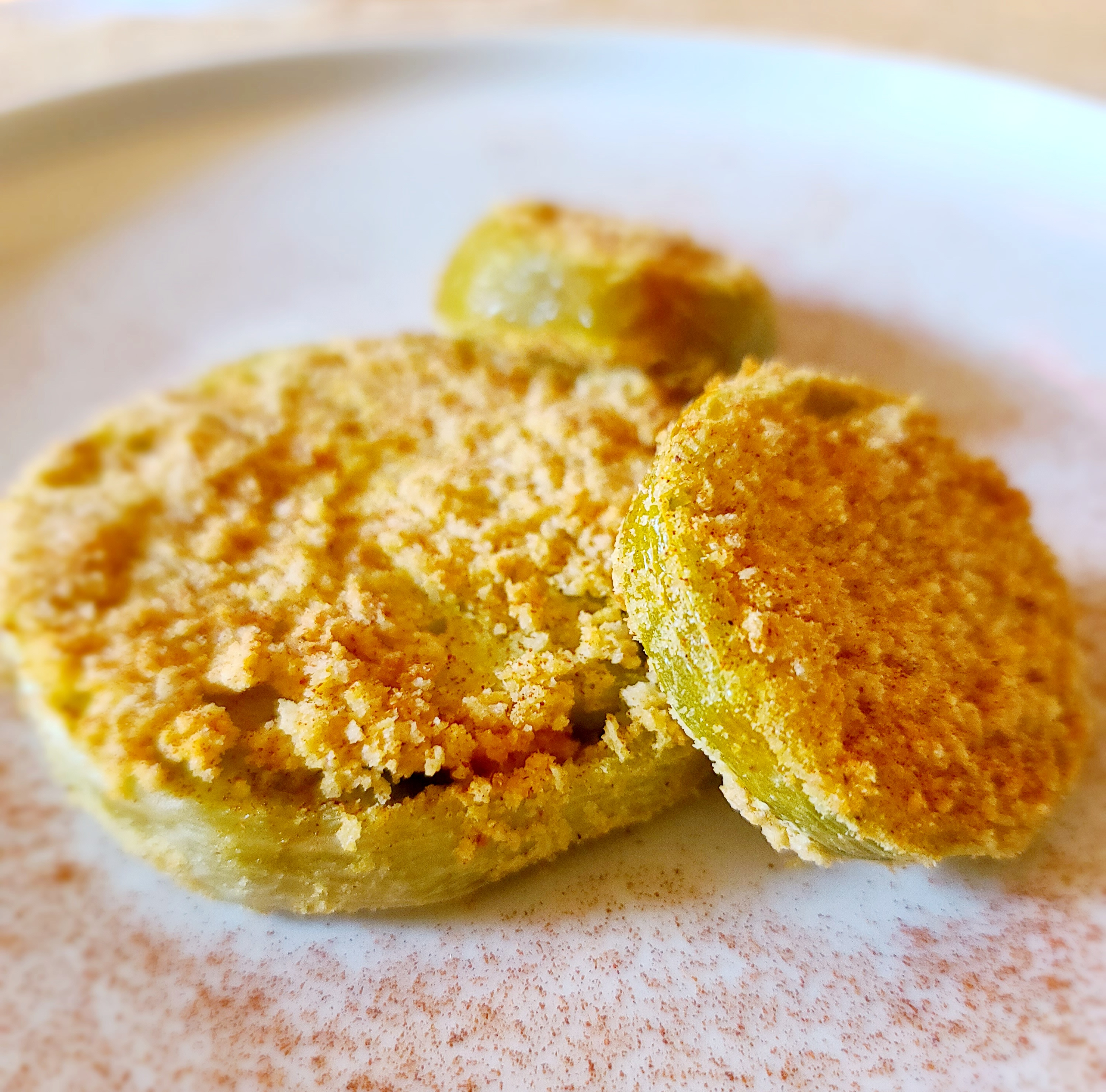 Air Fryer Fried Green Tomatoes