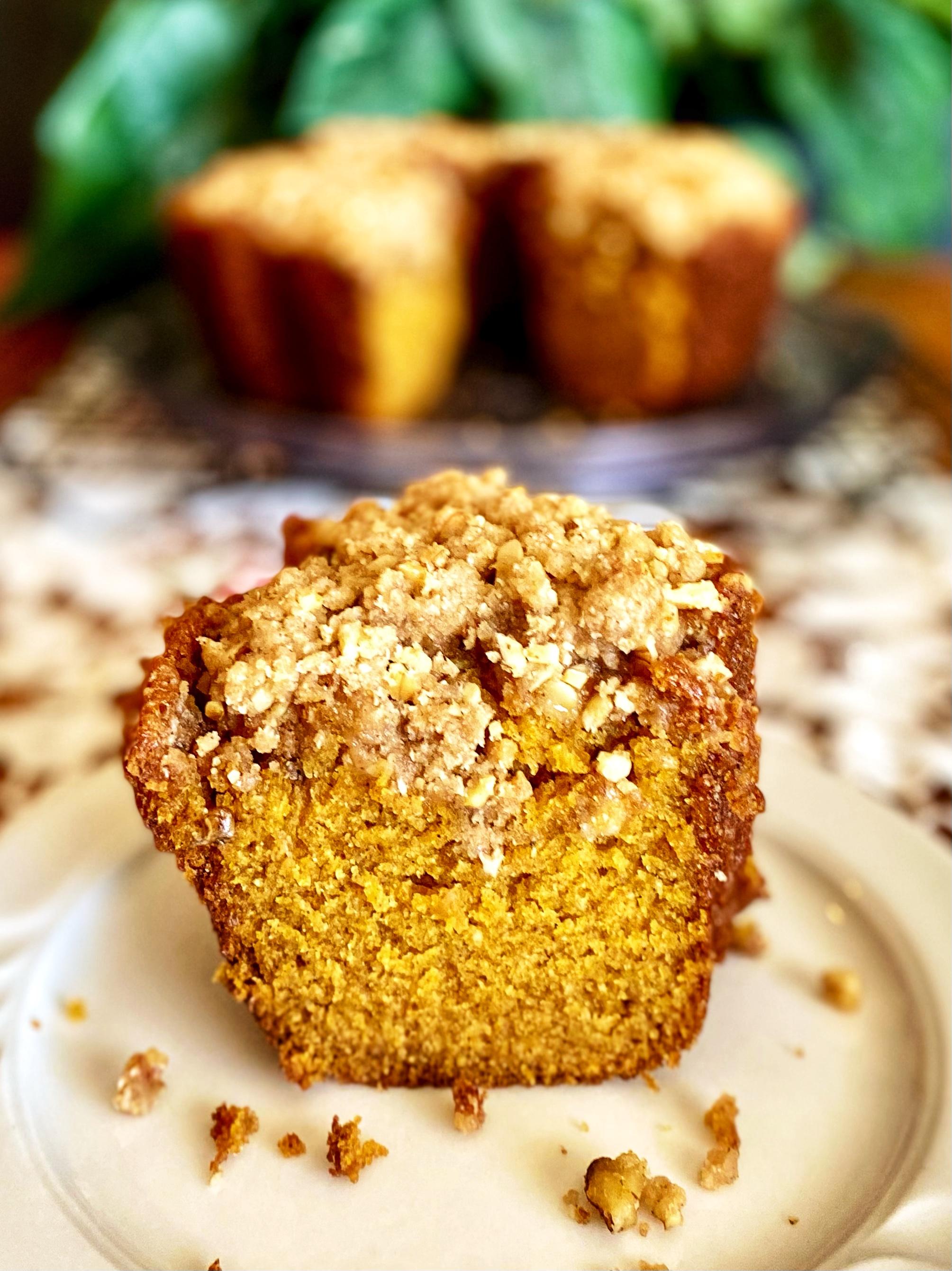 Pumpkin Streusel Bundt® Cake