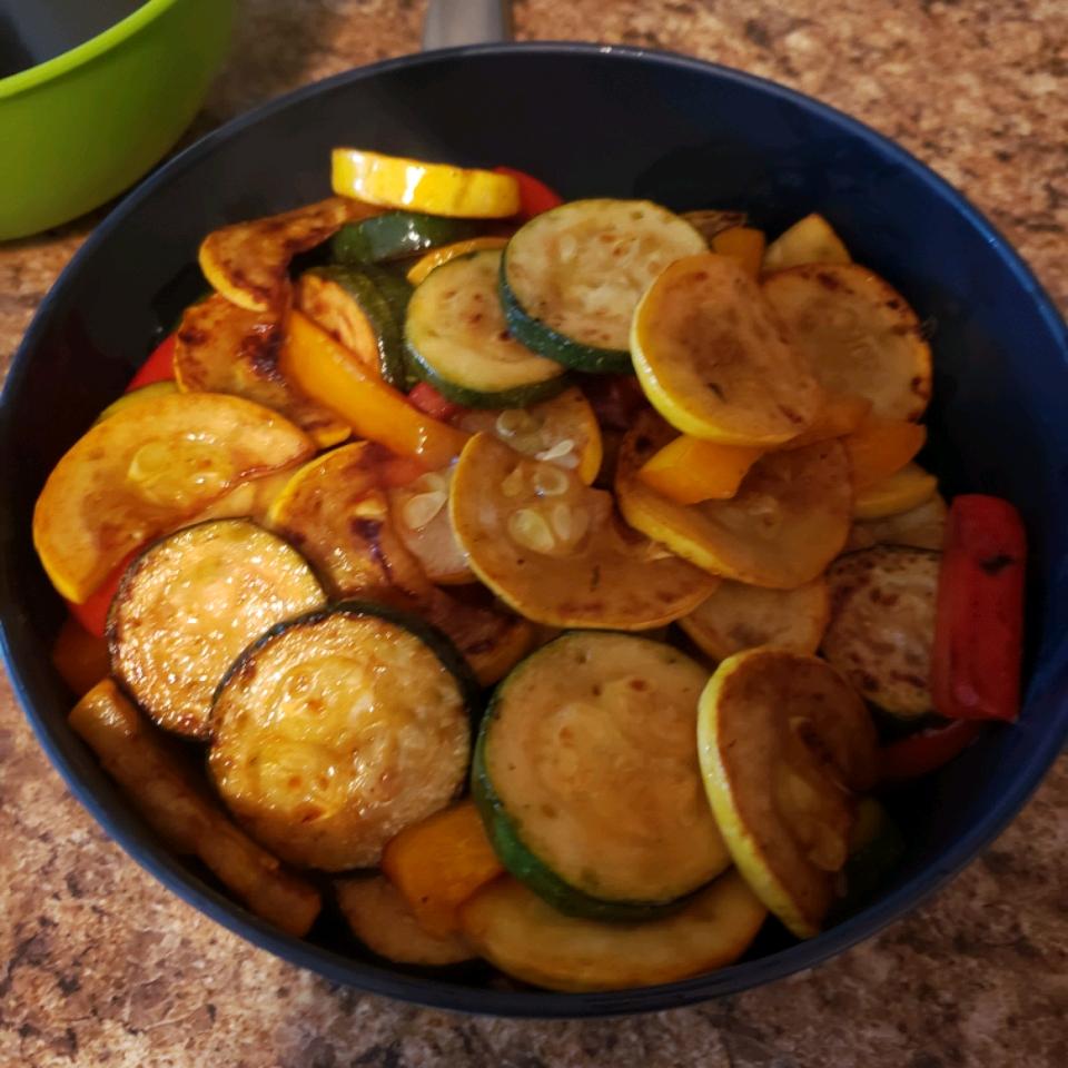 Grilled Vegetables with Balsamic Vinegar KT1