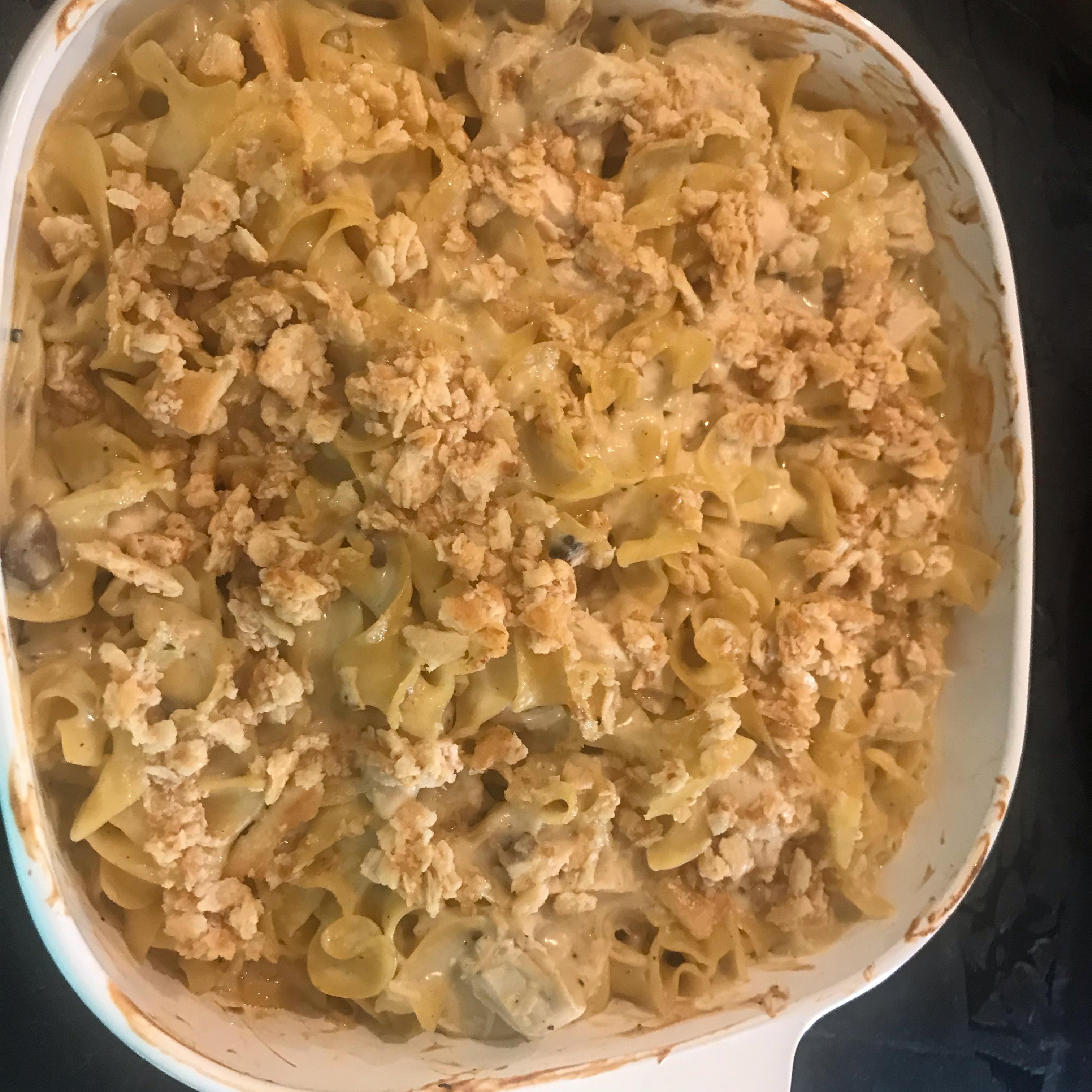 Chicken Noodle Casserole I carolthecook