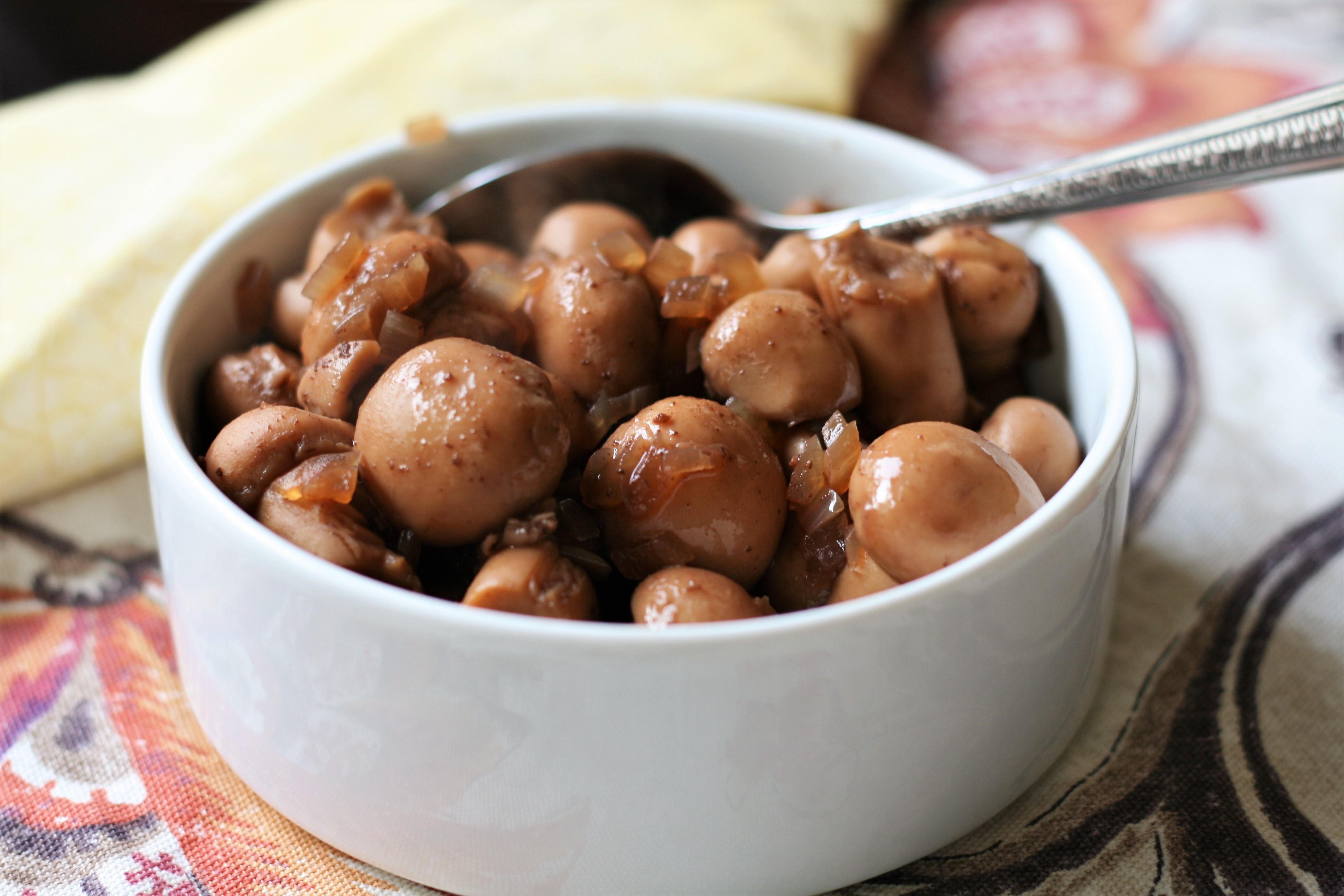 Burgundy Mushrooms