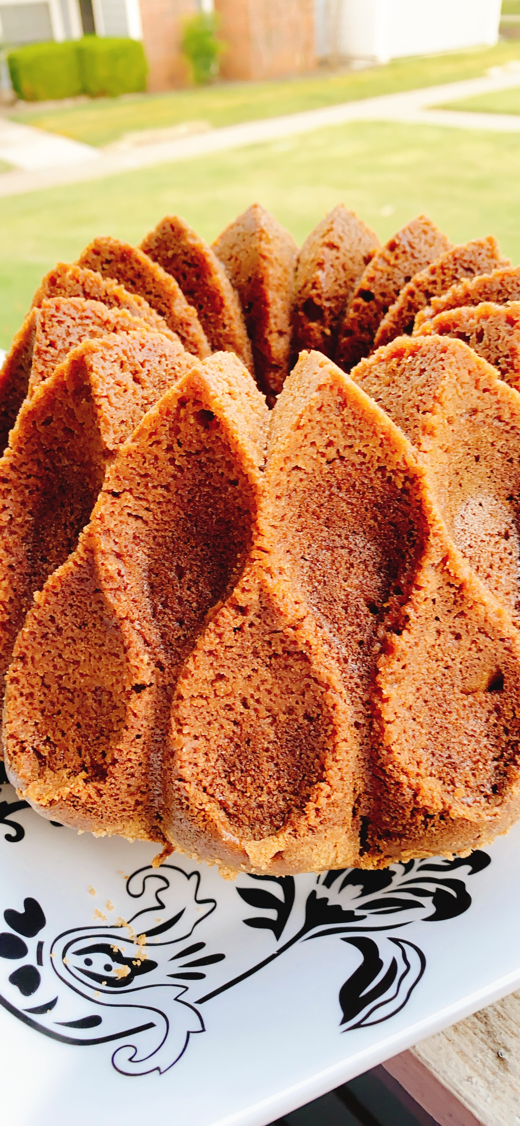 Cinnamon-Pumpkin Streusel Bundt® Cake