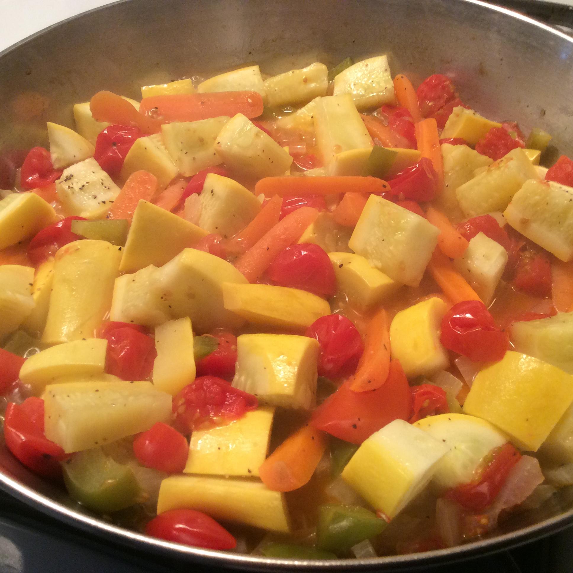 Tomato Squash Dish
