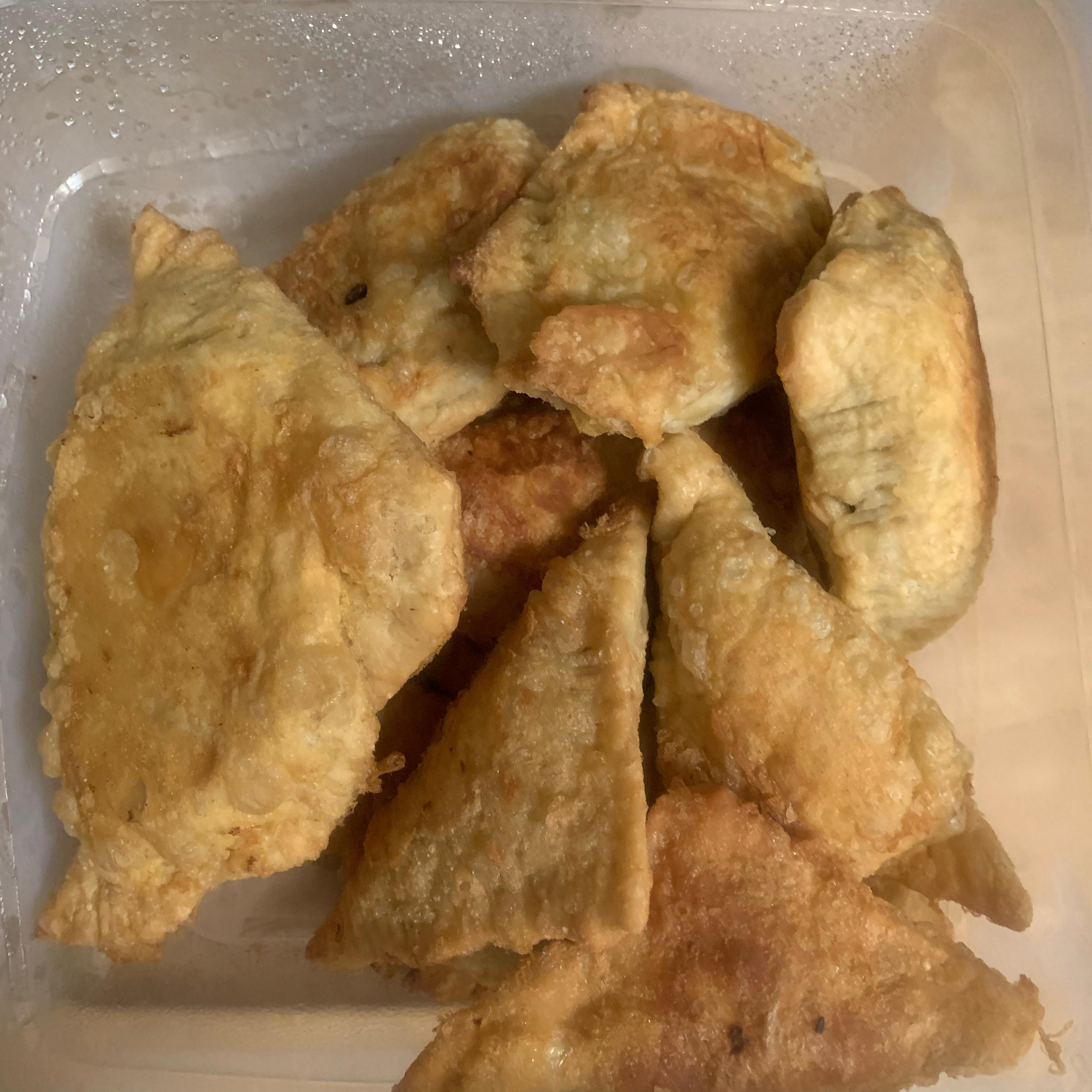 Chicken Curry Puffs