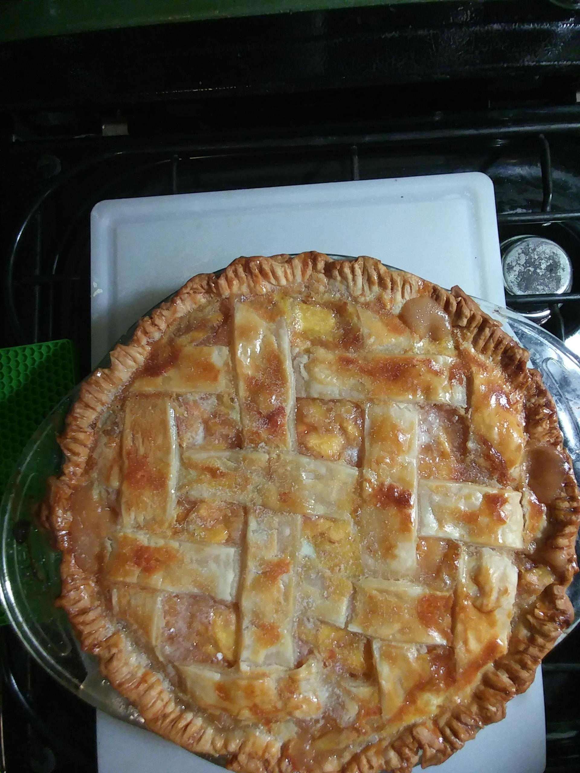 Peach Pie the Old Fashioned Two Crust Way Diann Ford